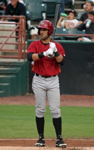 Andrew Lambo picked up his first Winter hit on Wednesday