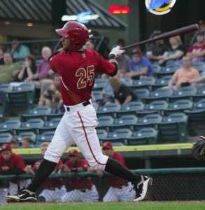 Andrew Lambo was the top hitter in the Pirates' system last week, and the International League Player of the Week.