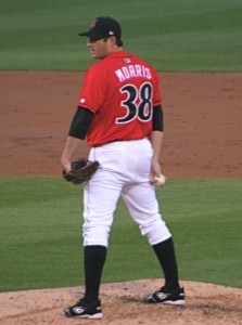Morris was dominant in his only season as an Indian, striking out nearly a batter per inning.