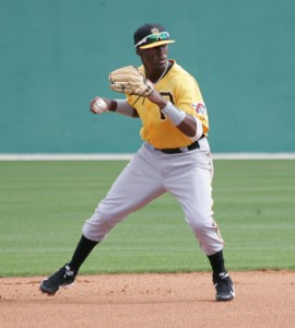 Keith Law says Alen Hanson could be an above-average regular at shortstop.