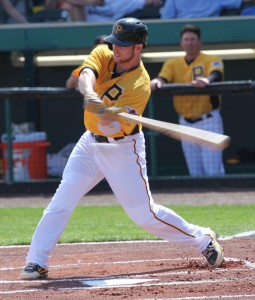 Alex Presley hit his second homer of the year tonight.