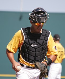 Tony Sanchez hit eight homers in 204 at-bats in Triple-A last year.