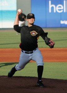 Charlie Morton went three innings tonight in a rehab start with the Marauders.