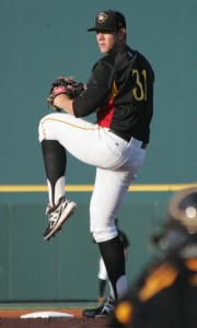 Nick Kingham struck out nine batters in seven innings today.