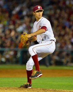 Luke Weaver threw six no-hit innings in his debut last week - Image Credit: Florida State University