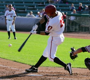 Andrew Lambo hit his 11th homer of the year.