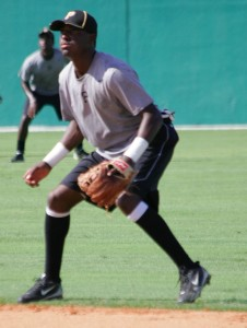 Alen Hanson played second base during the 2010-11 seasons