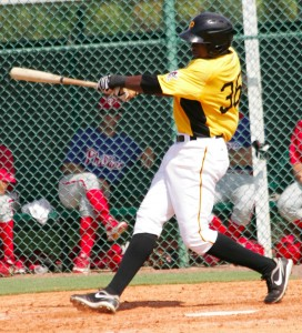 Gregory Polanco saw a boost to his power in 2012, and could have room for additional power in the future.
