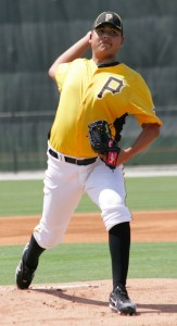 Luis Heredia could possibly make a few starts with Jamestown before going to West Virginia.