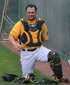 Michael McKenry will be the backup catcher again this year.