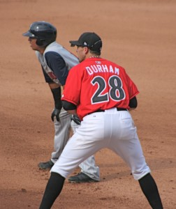 The Pirates brought back Miles Durham as a player/coach.