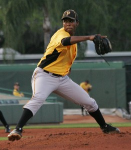 Out of the three A-ball lefties in the top ten this week, Joely Rodriguez has the most upside.