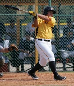 Jin-De Jhang hit two homers today.
