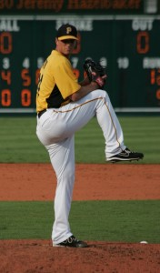 Tony Watson was hit around in his first game since February 28th.