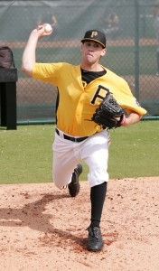 Zach Thornton pitched well in the AFL