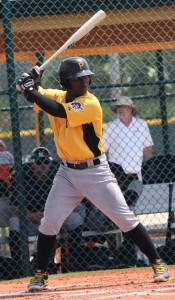 Dilson Herrera homered to left field today.