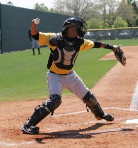 Diaz had four hits on Saturday