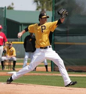 Jeff Karstens was scratched today with soreness.