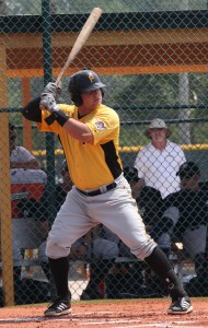 Stetson Allie continued his hot hitting this week.
