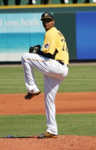 Stolmy Pimentel will look to continue his strong start to the 2013 season.