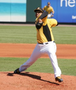Stolmy Pimentel has been called up to the majors.