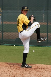 Zack Dodson made a start today in extended Spring Training.
