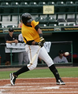 Willy Garcia hit his 7th homer in the month of June.