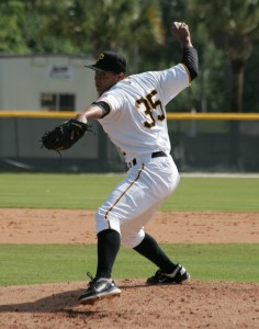 Miguel Rosario struck out six in four innings of work.