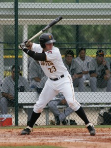 Arribas is expected to see regular action behind the plate in the ABL
