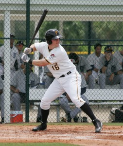 Sands had a double and RBI on Friday