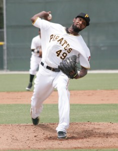 James McDonald threw two perfect innings in the GCL today.