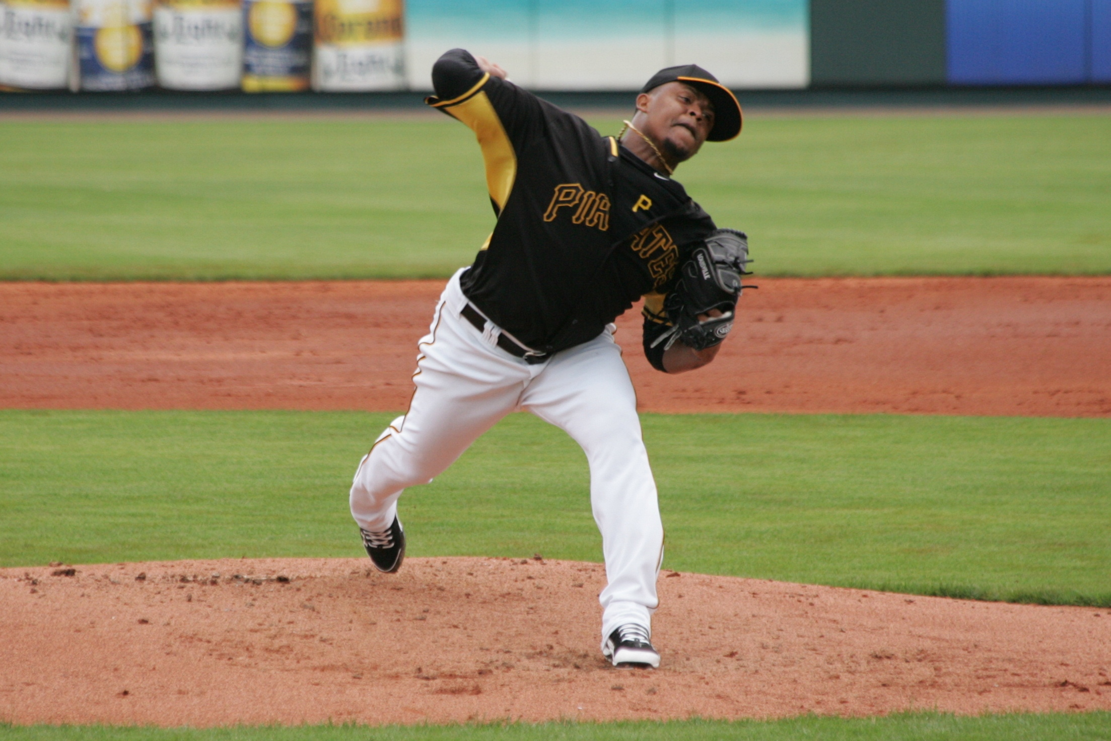 """Edinson Volquez is the latest """"bounce-back"""" candidate brought into the organization."""